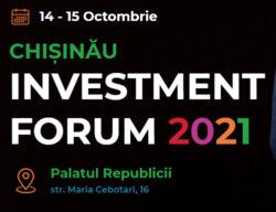 Chisinau Investment Forum 14-15 жовтня