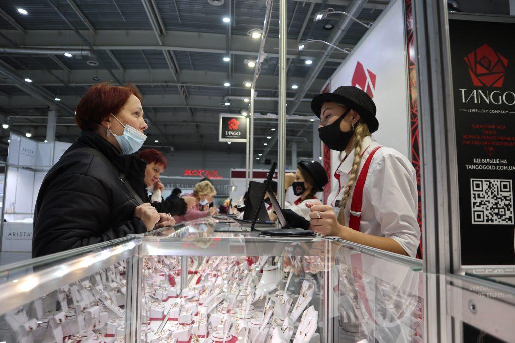 У ВЦ «Козак-Палац» відбулася виставка «Ювелірний Світ»!