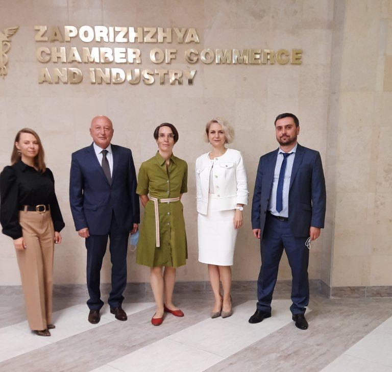 Зустріч з Генеральним консулом Німеччини у Донецьку (офіс м. Дніпро) Танею Байєр