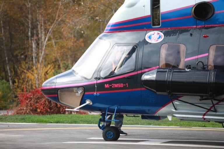 В Запорізькій області дано старт українській санавіації на базі гелікоптерів виробництва «Мотор Січ»