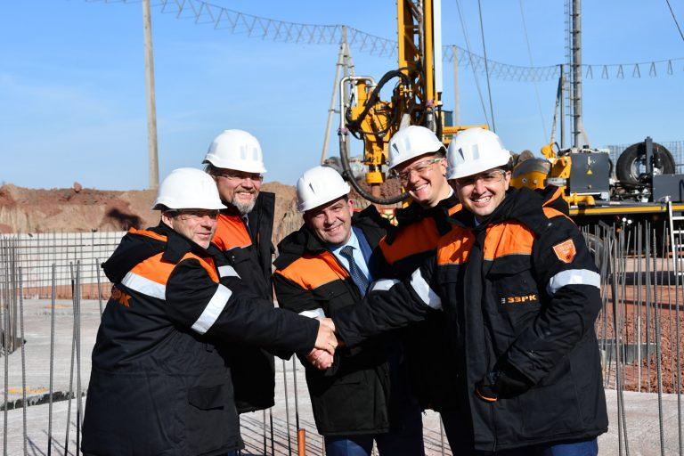 Інвестиції в майбутнє: на Запорізькому залізорудному комбінаті стартувало будівництво Південного вентиляційного ствола № 2